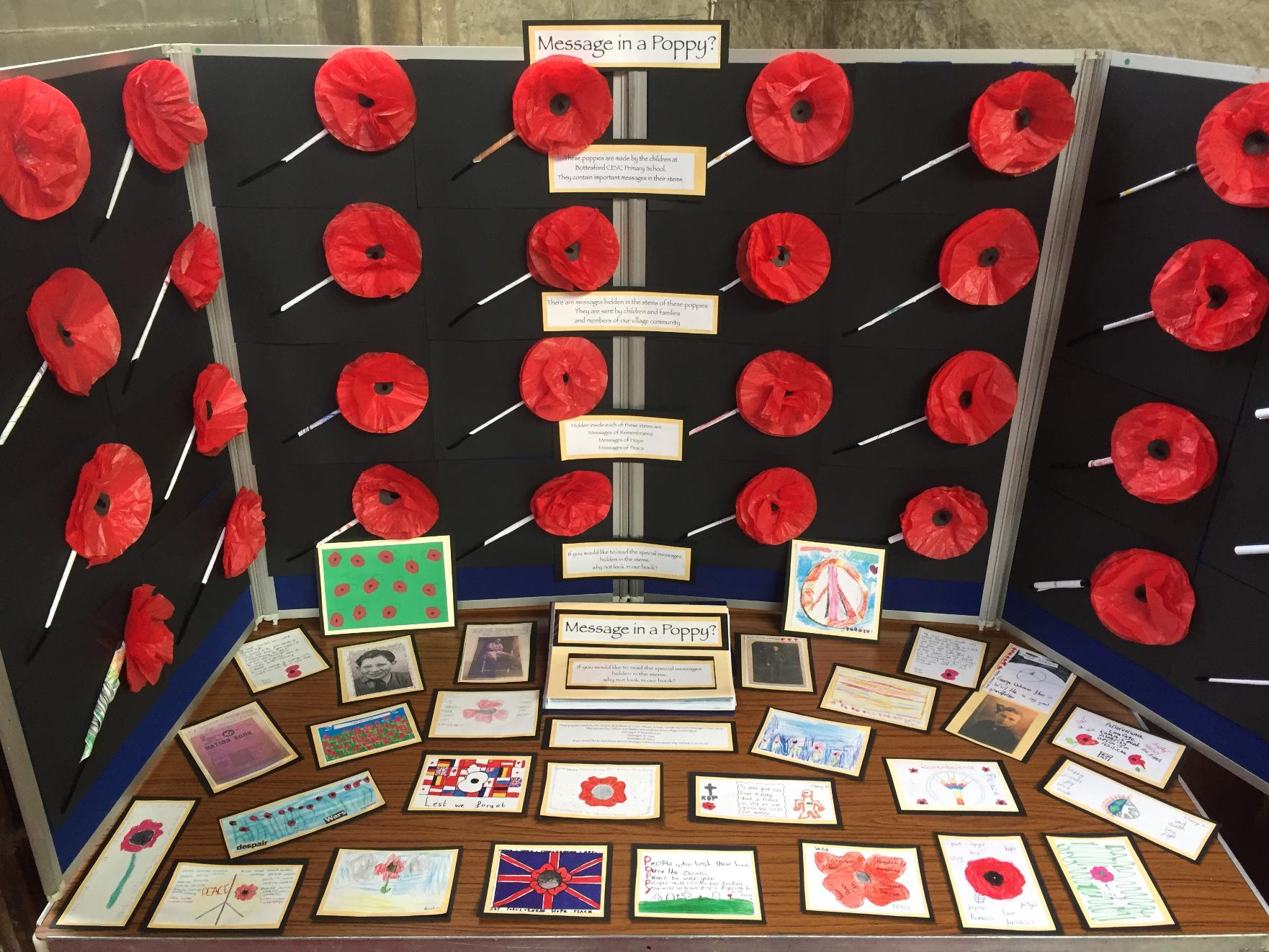 Remembrance Sunday for primary schools